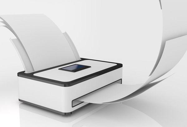 Самоклеящиеся бумаги в принтере