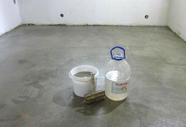 Жидкое стекло. Применение в строительстве