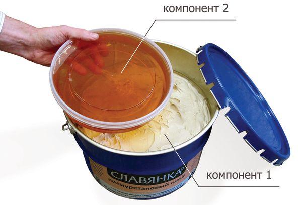 Полиуретановый клей Славянка