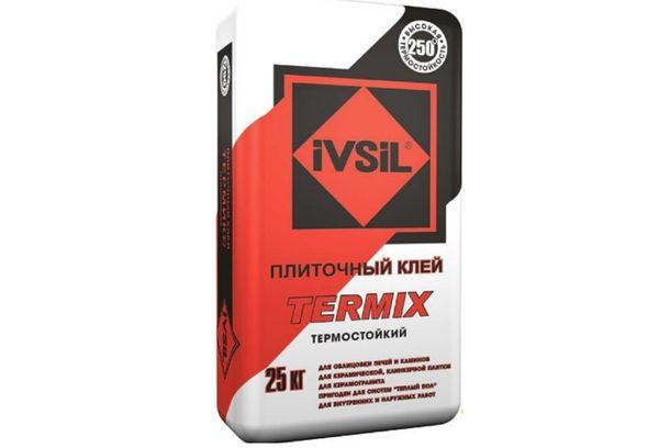 Клей для плитки Ivsil Termix, 25 кг