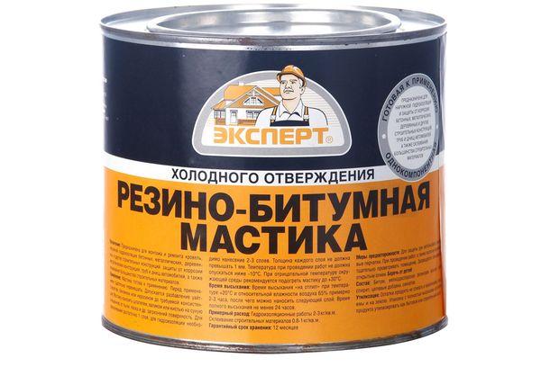 Резиново-битумная мастика