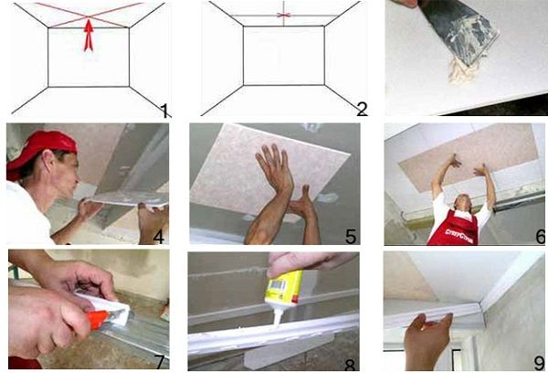 Пошаговая инструкция по приклеиванию плитки