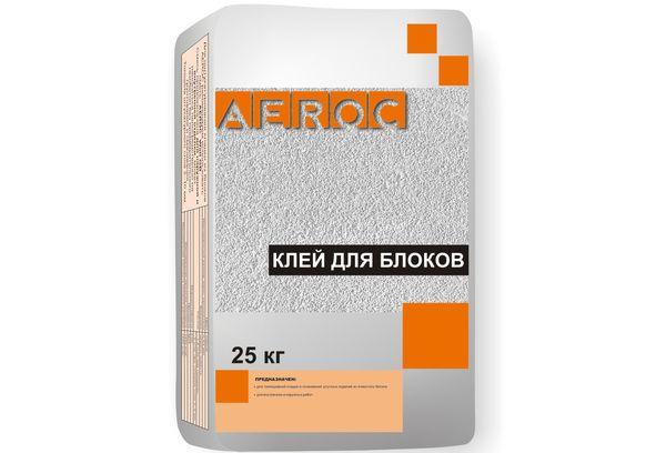 Клей для блока Aeroc