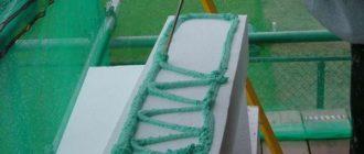 Нанесение полиуретанового клея-пены на пенопласт