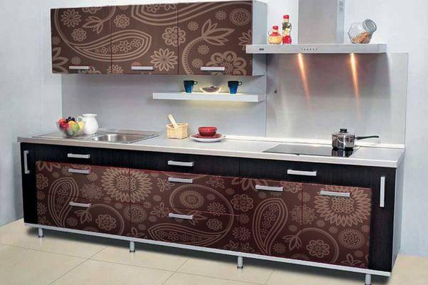 Самоклейки на кухонной мебели