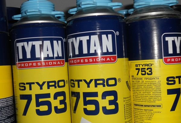Клей для теплоизоляции Tytan Styro 753 O2
