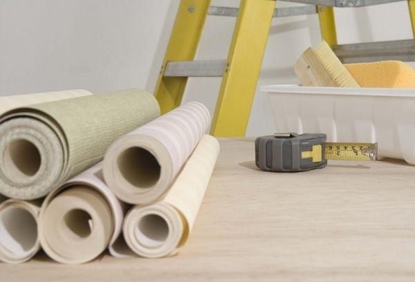 Инструменты и материалы для оклейки обоев