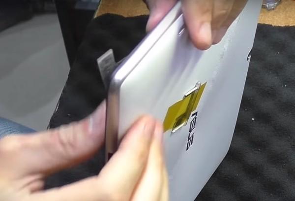 Сборка планшета