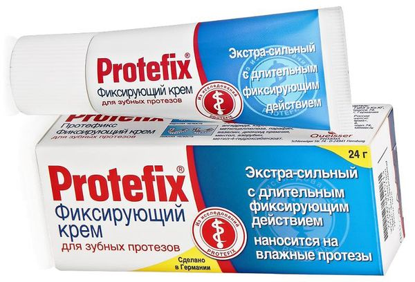 Фиксирующий клей Протефикс