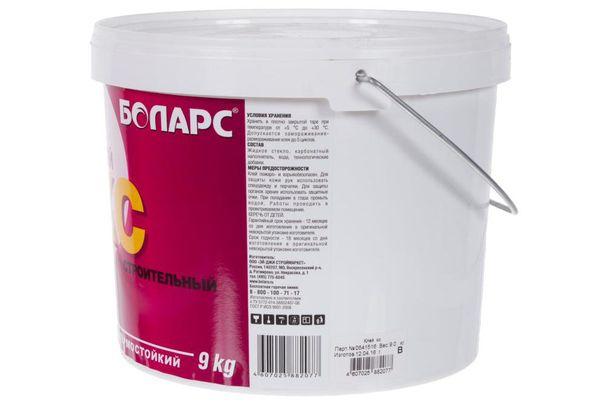 Клей строительный Боларс КС, 9 кг
