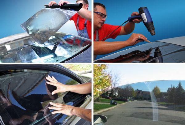 Тонировка стекла авто