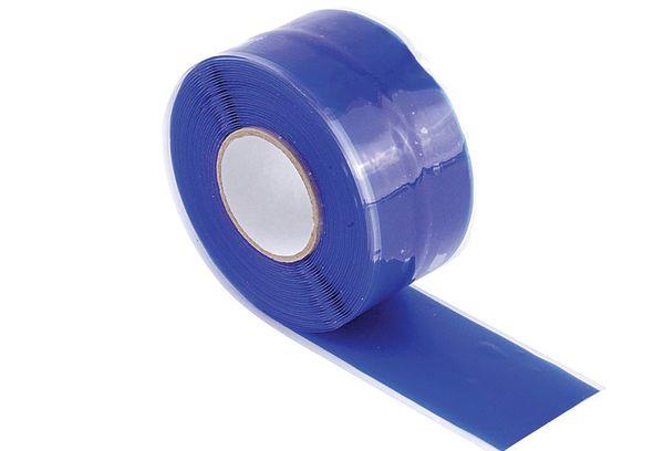 Синий силиконовый скотч