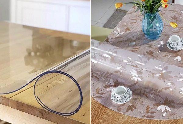 Пленка на стол прозрачная защитная