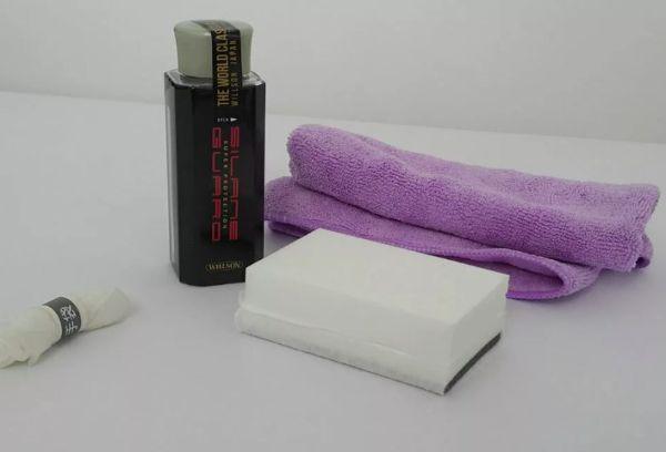 Упаковка Willson silane Guard губка и тряпочка