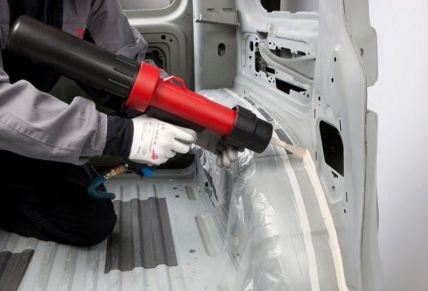 Применение шовного герметика