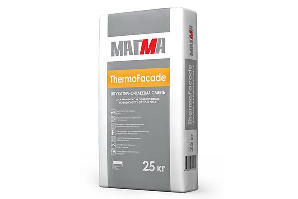 Клей для фасадной сетки «Магма ThermoFacade»