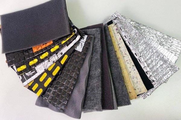 Вибро- и шумоизоляционные материалы