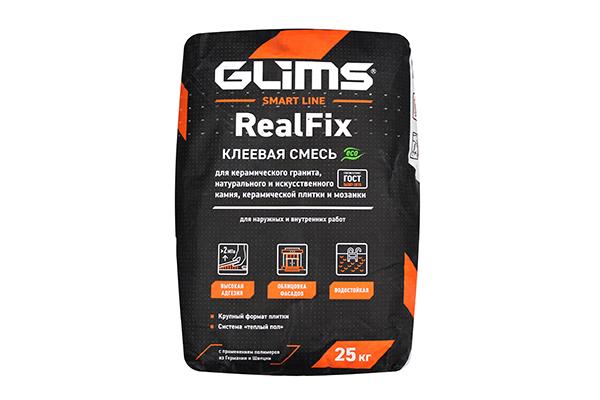 Плиточный клей GLIMS®RealFix