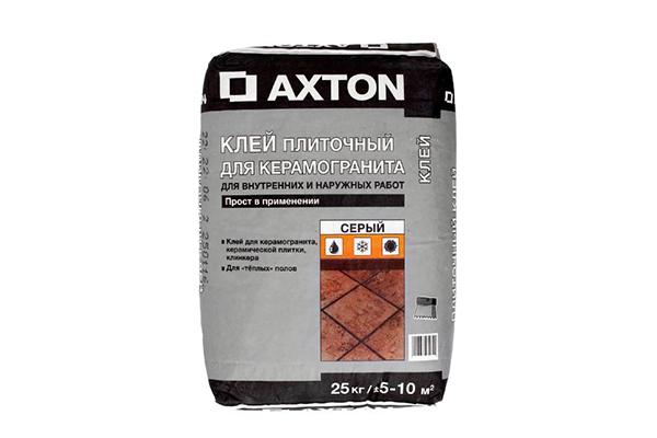Плиточный клей Axton для керамогранита